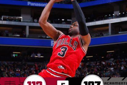 Bulls vencem Kings com show de Dwyane Wade - The Playoffs