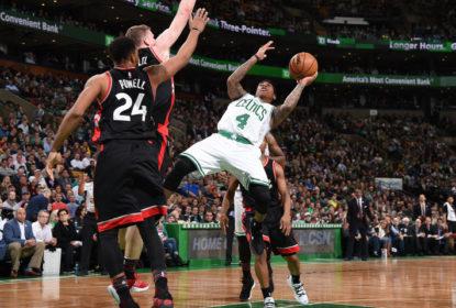 Isaiah Thomas marca 19 pontos no último quarto e Celtics vencem Raptors - The Playoffs