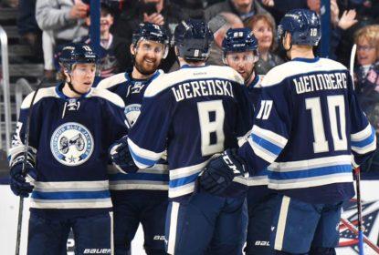 Columbus Blue Jackets derrota Toronto Maple Leafs por 5 a 2 - The Playoffs