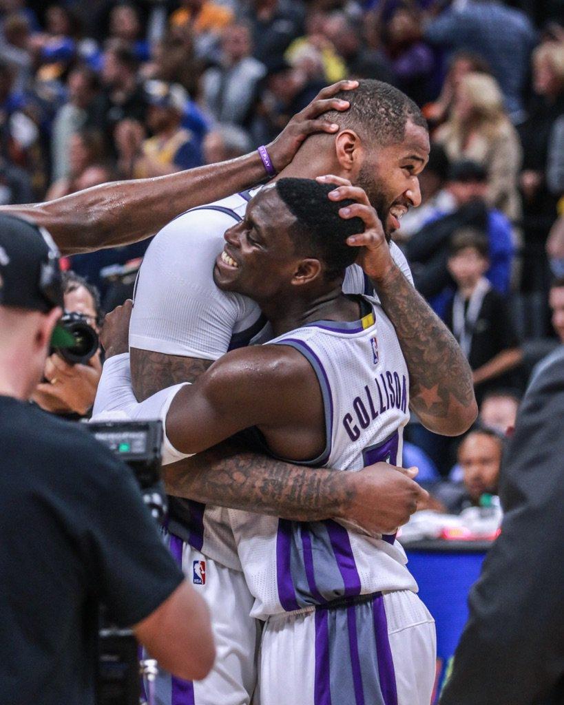 Com grande jogo de Cousins, Kings vencem Warriors