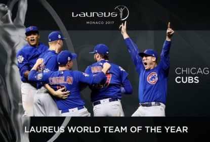 Chicago Cubs é eleito o time do ano no Prêmio Laureus - The Playoffs