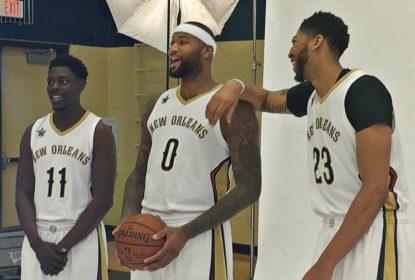 """Cousins é apresentado em New Orleans e acusa Kings de """"desonestidade"""" - The Playoffs"""