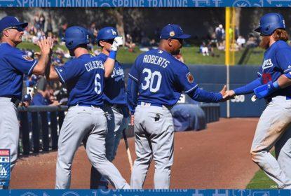 Los Angeles Dodgers vence Milwaukee Brewers em jogo de 18 corridas - The Playoffs