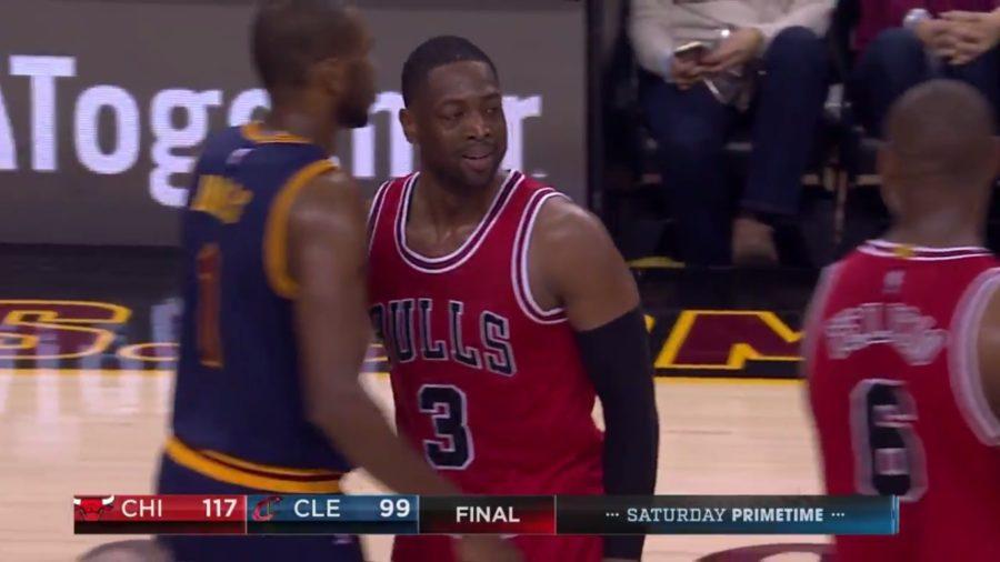 """""""Meu companheiro não me quer bem"""", brinca Wade após 'trollada' de Felício - The Playoffs"""