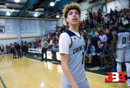 Promessa do basquete, LaMelo Ball marca 92 pontos em jogo do high school - The Playoffs