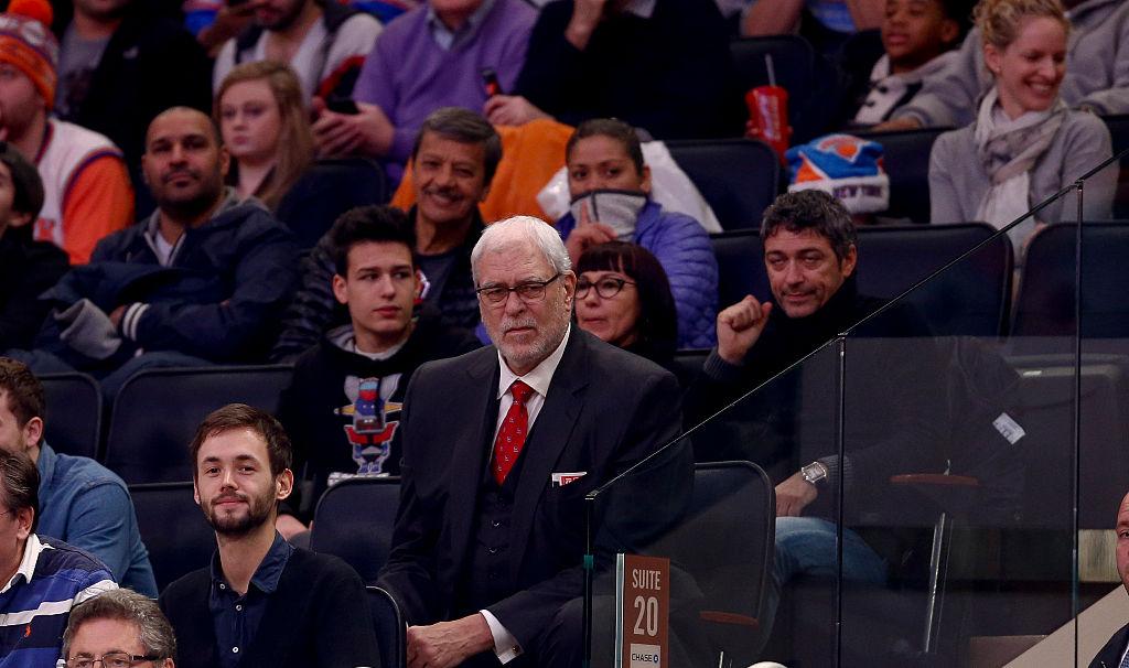 Phil Jackson é presidente do New York Knicks