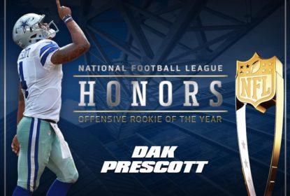 Dak Prescott supera Ezekiel Elliott e se torna o melhor rookie ofensivo da temporada - The Playoffs