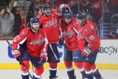 Washington Capitals vence Boston Bruins por 5 a 3 e segue tranquilo na liderança - The Playoffs