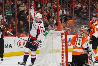 Fora de seus domínios, Washington Capitals derrota Philadelphia Flyers por 4 a 1 - The Playoffs