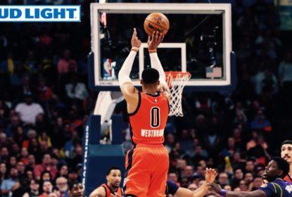 Russell Westbrook anota triple-double em vitória do Thunder sobre Pelicans