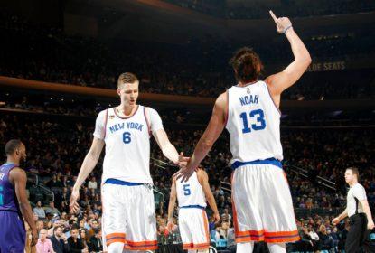 Jeff Hornacek indica que Joakim Noah não jogará mais pelos Knicks - The Playoffs