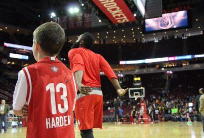 Com triplo-duplo de James Harden, Rockets vencem Cavs - The Playoffs