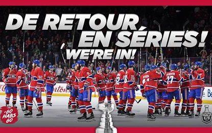 Montréal Canadiens vence o Florida Panthers, e retorna aos playoffs