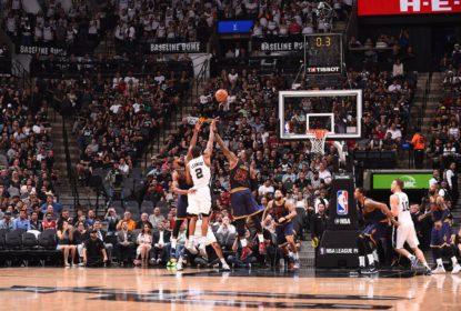 San Antonio Spurs atropela e Cleveland Cavaliers deixa a liderança da Conferência Leste - The Playoffs