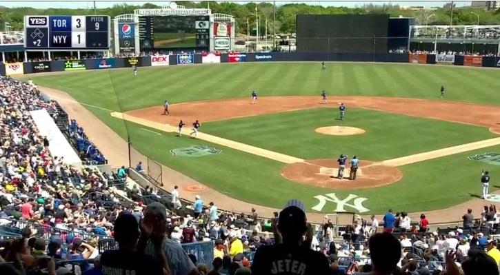 Greg Bird consegue sétimo HR do Spring Training e Yankees vencem Blue Jays