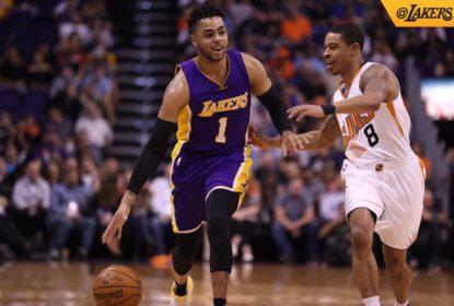 D'Angelo Russell faz jogo perfeito e Lakers vencem Suns - The Playoffs