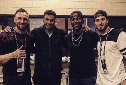Brasileiros da MLB Orlando, Rienzo e Vieira vão a jogo da NBA - The Playoffs