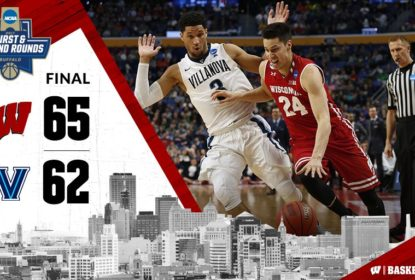 Wisconsin surpreende e vence Villanova; West Virginia supera Notre Dame e avança no March Madness - The Playoffs