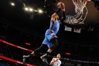 Westbrook quebra recorde, é ovacionado e Thunder vence Magic na prorrogação - The Playoffs