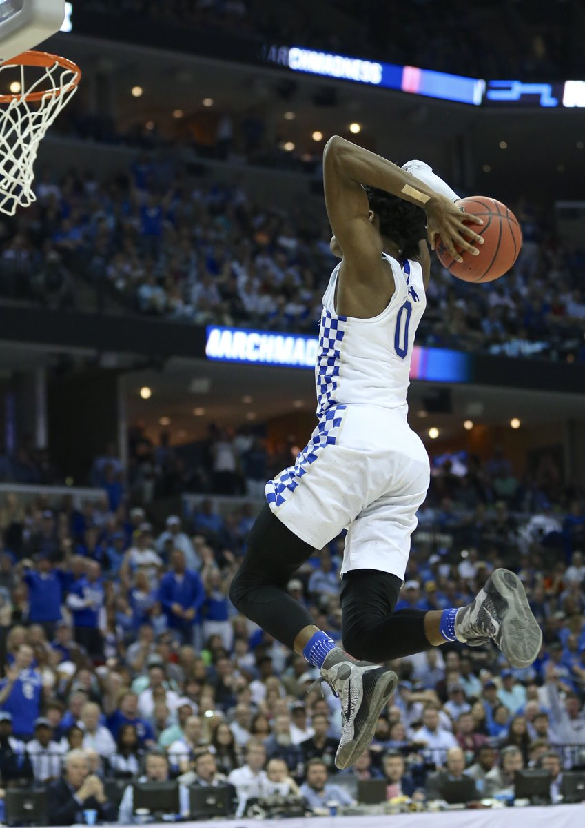 De'Aaron Fox comanda Kentucky no Sweet Sixteen