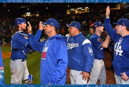 Dodgers vencem primeiro jogo contra Giants no ano - The Playoffs