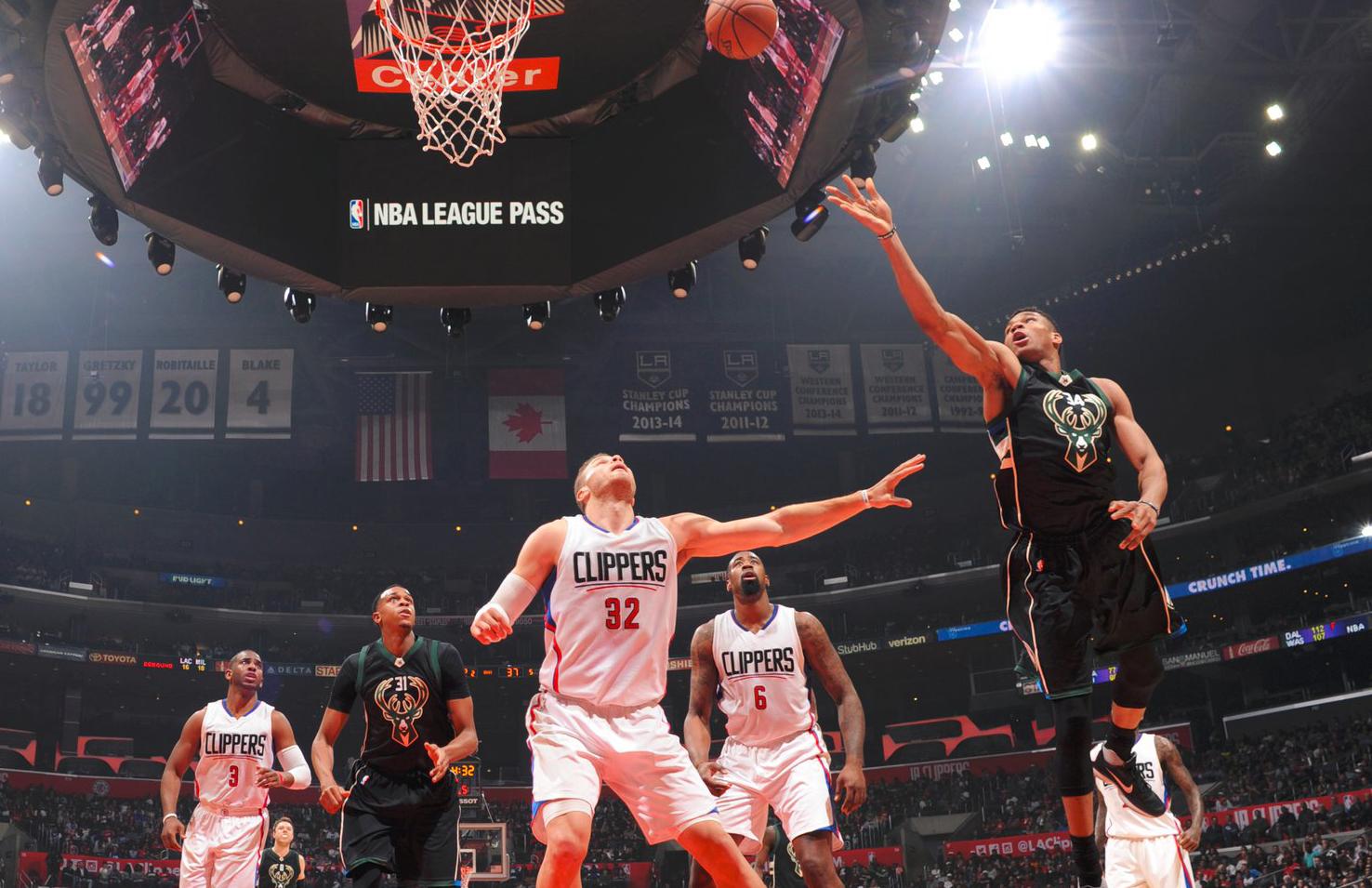 Milwaukee Bucks vence Los Angeles Clippers fora de casa e ...