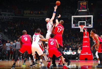 Raptors dão o troco e batem os Wizards em Washington - The Playoffs 1644fe99813