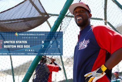 Boston Red Sox vence Seleção dos Estados Unidos no Spring Training - The Playoffs