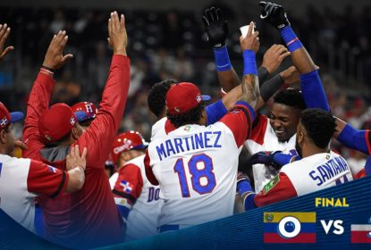 República Dominicana bate Venezuela e se mantém viva no World Baseball Classic - The Playoffs