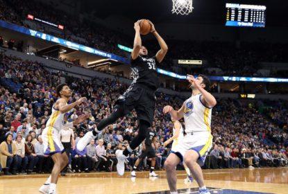 Jovens brilham e Timberwolves vencem os Warriors - The Playoffs
