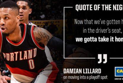 Damian Lillard decide outra vez e Blazers vencem Lakers - The Playoffs