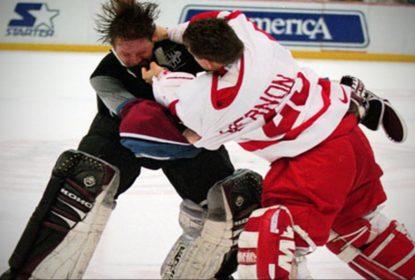 Vinte anos atrás acontecia a briga que mudou a NHL - The Playoffs