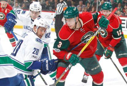 Fora de casa, Vancouver Canucks derrota Minnesota Wild por 4 a 2 - The Playoffs