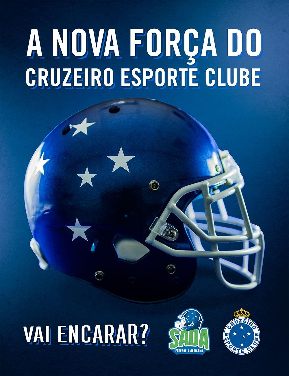 Cruzeiro firma parceria com BH Eagles e expande sua marca para o ... 90575a0d5ec9c