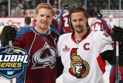 Senators e Avalanche irão realizar dois jogos na Suécia - The Playoffs