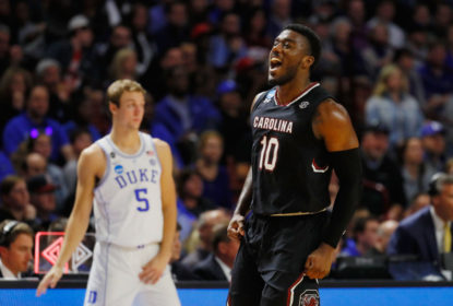 Zebra passeia e South Carolina vence favorita ao título Duke - The Playoffs