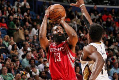 James Harden quebra recordes em derrota dos Rockets para os Pelicans