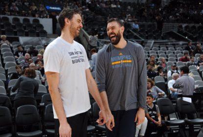 Marc sugere que Grizzlies façam troca para retorno de Pau Gasol - The Playoffs