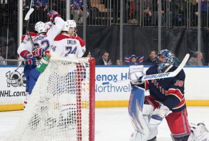 Fora de casa, Montreal Canadiens goleia New York Rangers por 4 a 1 - The Playoffs