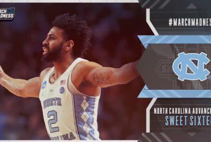 North Carolina evita desastre e avança ao Sweet 16 do March Madness - The Playoffs