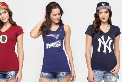 Netshoes apresenta linha exclusiva de produtos para mulheres fãs de esportes americanos - The Playoffs