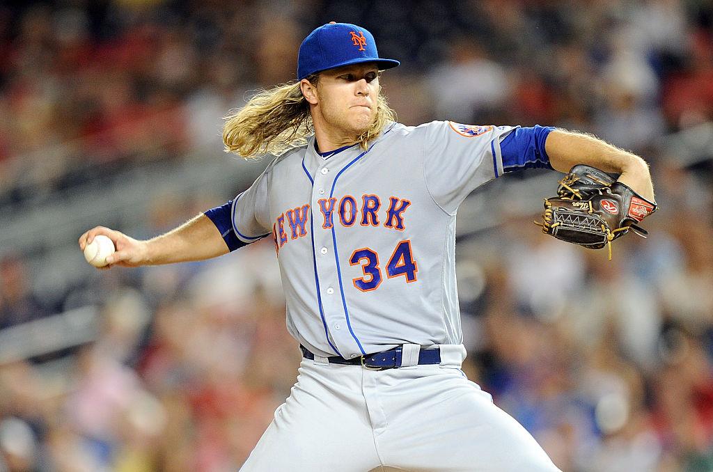 Noah Syndergaard é arremessador do New York Mets