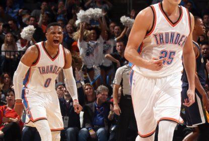 Russell Westbrook anota 30º TD da temporada e OKC vence Utah - The Playoffs