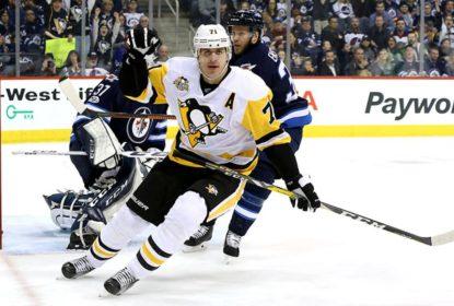 Jogando no Canadá, Pittsburgh Penguins derrota Winnipeg Jets por 7 a 4 - The Playoffs