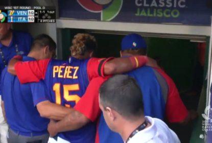 Lesão de Salvador Perez no joelho não é grave, mas catcher dos Royals está fora do WBC - The Playoffs