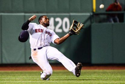 Jackie Bradley Jr. machuca joelho e entra para lista de lesionados do Boston Red Sox - The Playoffs