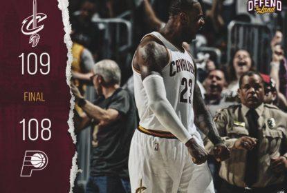 Pacers falham no segundo final e Cavaliers saem na frente com 1ª vitória nos playoffs - The Playoffs