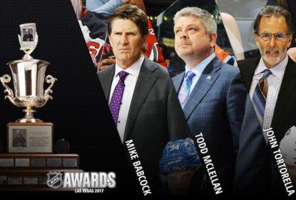 Conheça os candidatos a treinador do ano na NHL - The Playoffs