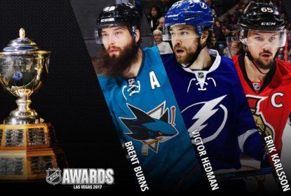 Definidos os finalistas ao troféu de melhor defensor da temporada da NHL - The Playoffs