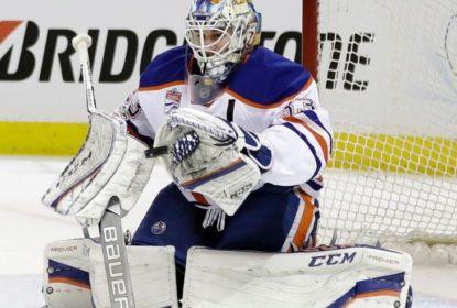 Cam Talbot brilha e Oilers vencem Sharks por 1 a 0 - The Playoffs